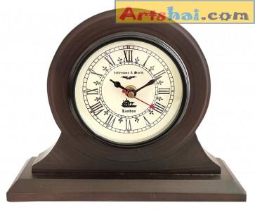Artshai 4 inch dial Antique Style Table Clock