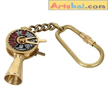 Artshai  Telegraph design  keychain