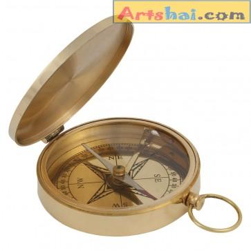 Artshai Golden Big size magnetic compass