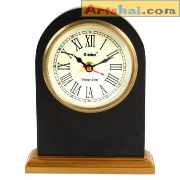 Artshai table desk clock.