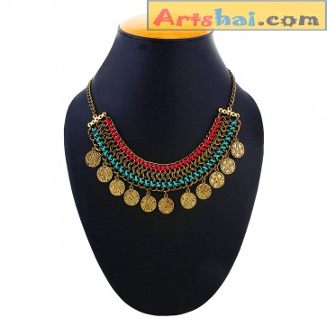 Artshai Alloy Plating necklace