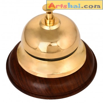 Artshai Brass table Bell, Functional Table Bell, Nautical Décor