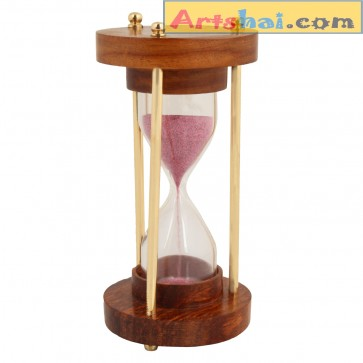 Artshai Beautiful 3 minutes sand timer Hourglass, Artshai411