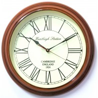 Artshai 16 inch antique look wall Clock, Big size designer wall clock