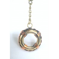 Artshai Brass Tube Design Keychain