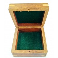Artshai sheesham Wood Jewellery Box, Size 10x9.8x4.8 cm