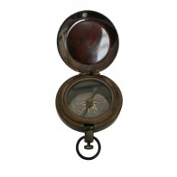 Artshai Small 2 inch Antique Look Size Ship Design Magnetic Compass