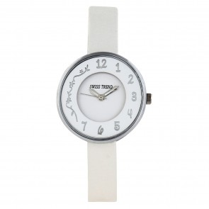 Swiss trend beautiful ladies watch with Authentic leather strap.Artshai1610