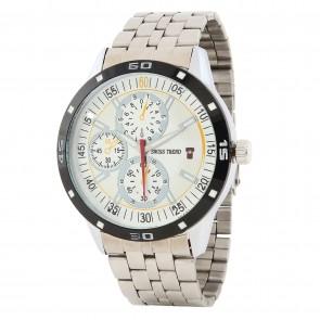 Swiss Trend latest  mens wrist watch with Black dial. Artshai1667