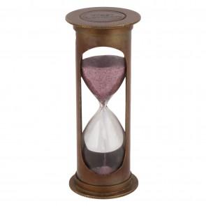 Artshai 3 minute Antique look Brass Hourglass