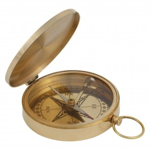 Artshai ultimate brass 3 inch Magnetic compass