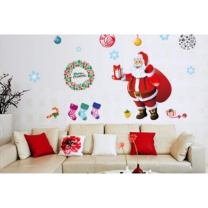 Artshai Christmas decoration removable sticker for home and shops