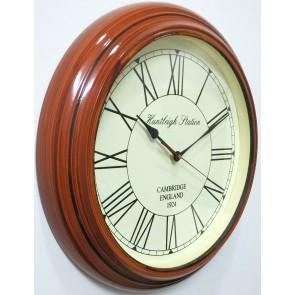 Artshai 16 inch antique look wall Clock, Big size designer wall clock