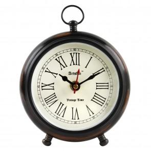 Artshai Antique look Round table Clock