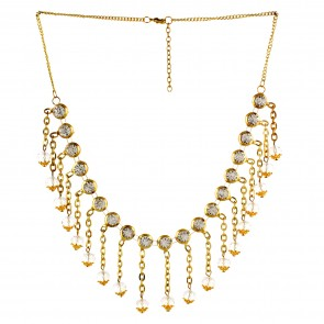 Artshai Alloy Gold Plating necklace