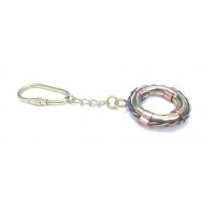 Artshai Brass Tube Design Keychain