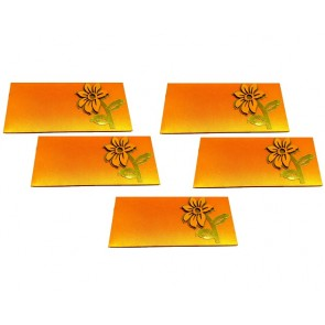 Artshai Flower Design shagun Envelope for Marriage (Pack of 5)