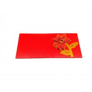 Artshai Designer Red shagun Envelope for Marriage (Pack of 5)