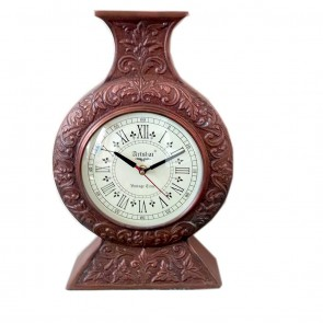 Artshai Metal Designer Handmade Antique Look Wall Clock