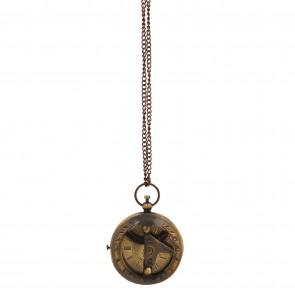 Artshai Victoria London design Pocket watch with chain and Sheesham wood box