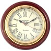 Artshai Vintage Antique Design 12 inch Wall Clock made from brass and wood.Home and Office Wall Clock
