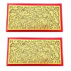 Artshai Designer red shagun Envelope for Marriage (Pack of 2)